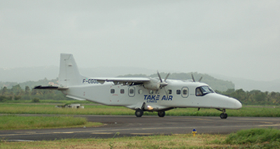 Dornier 228 owned and operated by Take Air