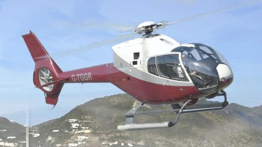 New Eurocopter EC 120-B Colibri in St. Maarten
