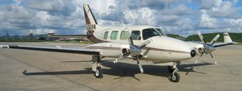 Piper Navajo Panther 7-seater twin-engine aircraft
