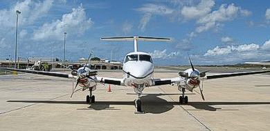 Super King Air B200 9-seater twin-engine aircraft