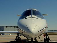 Lear 25 jet