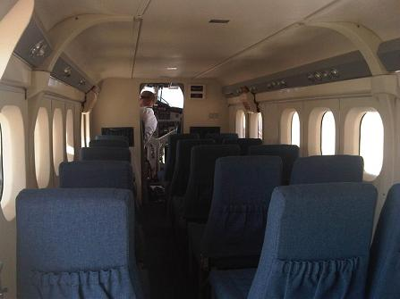 Twin Otter - 19-seater turboprop - interior