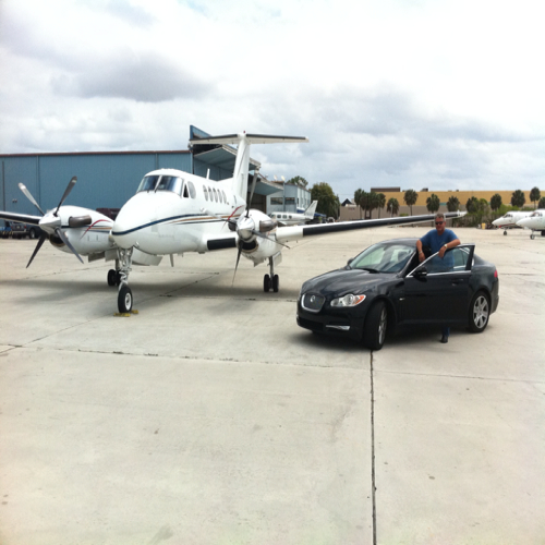 Super VIP Service with our Super King Air B200 twin-engine aircraft
