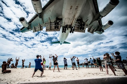 2013 SXM Aviation Toppix Contest Winning Photo