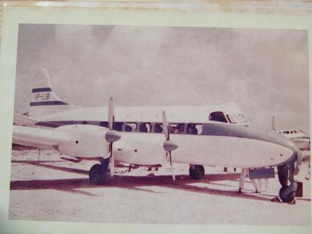LIAT DeHavilland Heron - Aviation Pioneers of the Caribbean Foundation