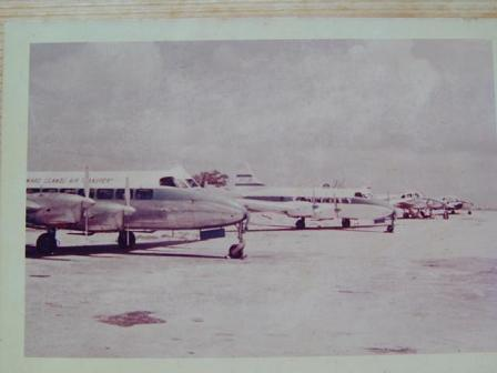 LIAT old fleet - Aviation Pioneers of the Caribbean Foundation