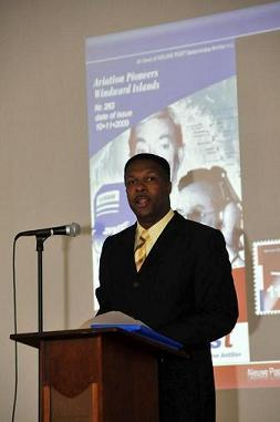 Terrance Rey - President of the Aviation Pioneers of the Caribbean Foundation