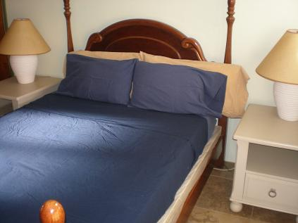 Pelican Key Apartment bedroom scene