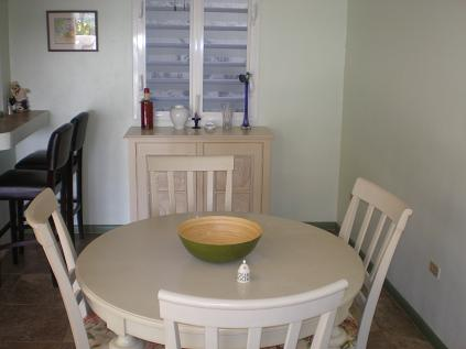 Pelican Key Apartment dinette