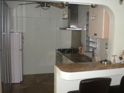 Pelican Key Apartment kitchen