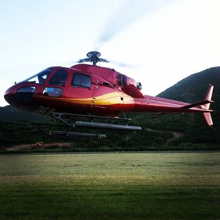 Eurocopter AS355N Helicopter available for AirStMaarten Charters St. Barths Anguilla St. Maarten
