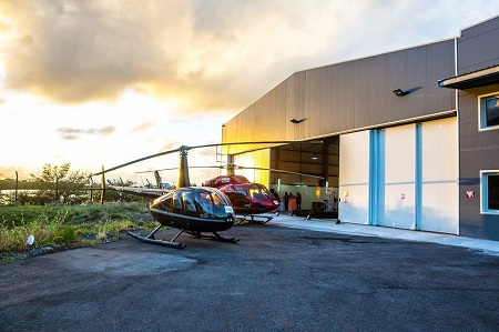 Robinson R44 added to fleet of available AirStMaarten aircrafts