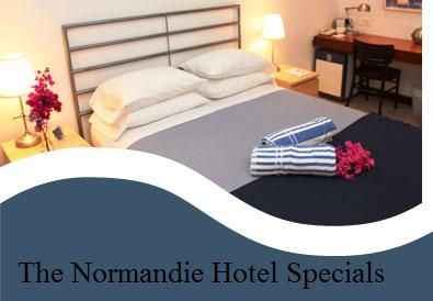 Normandie Hotel room