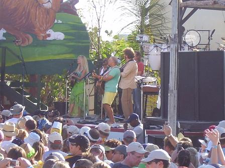 Jimmy Buffett in Anguilla on March 24, 2007