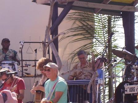 Jimmy Buffett in Anguilla on March 24 2007