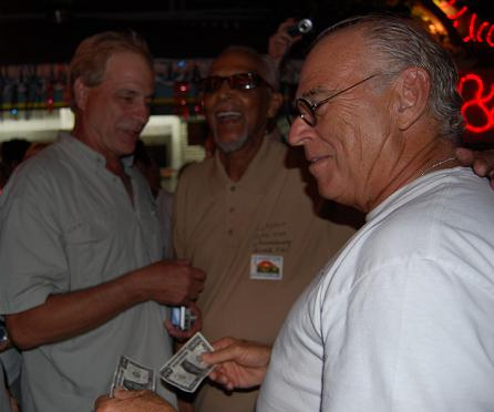 Jimmy Buffett, Marius Stakelborough & Paul Morrow in St. Barths for Le Select 60th Anniversary Celebrations