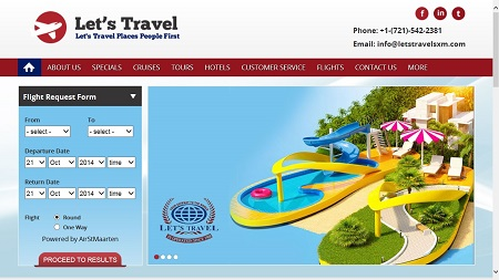 Let's Travel Launches Brand New Website at Lets-Travel.com