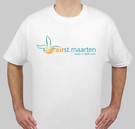 AirSXM AirStMaarten Men's T-Shirt Merchandising