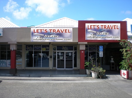 Travel Agency Sales Office for AirStMaarten