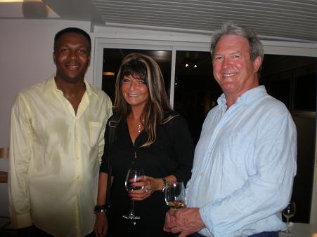 Terrance Rey, Chantal Descombes & Dennis Carlton