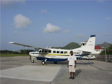 Cessna Grand Caravan in St. Barths