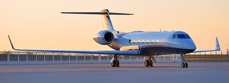 Book our private jet charter flight aircraft
