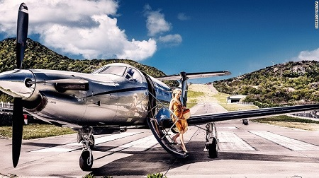 Private Jet Charter to St. Barths