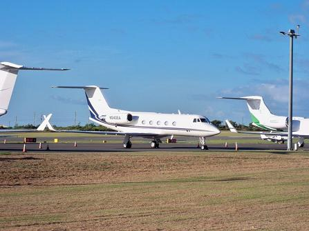 Private Jets At Lloyd International Airport in Anguilla