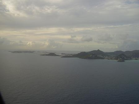 Flight St. Maarten St. Barths 1/5