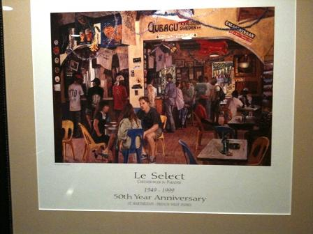 Le Select's 50th anniversary poster (1949-1999)