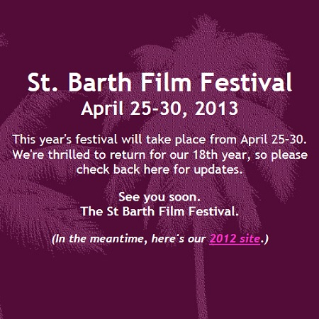 St. Barth Film Festival 2013 teaser
