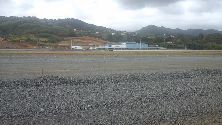 St. Vincent Argyle International Airport under Construction