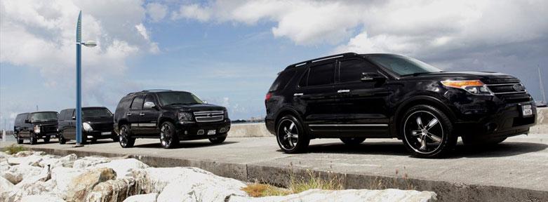 AirSXM Fleet of VIP Vehicles