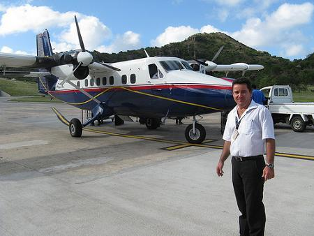 Winair Station Manager Rodrique Aubin